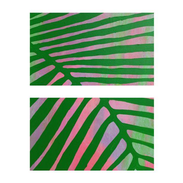 Palm Fronds by Abhishek Kumar