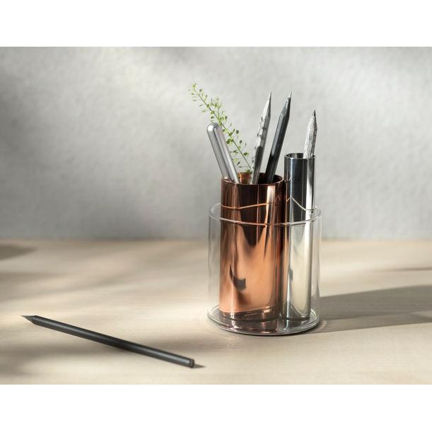 PENPO- Magnetic Desk Organiser-Copper by Beyond Object