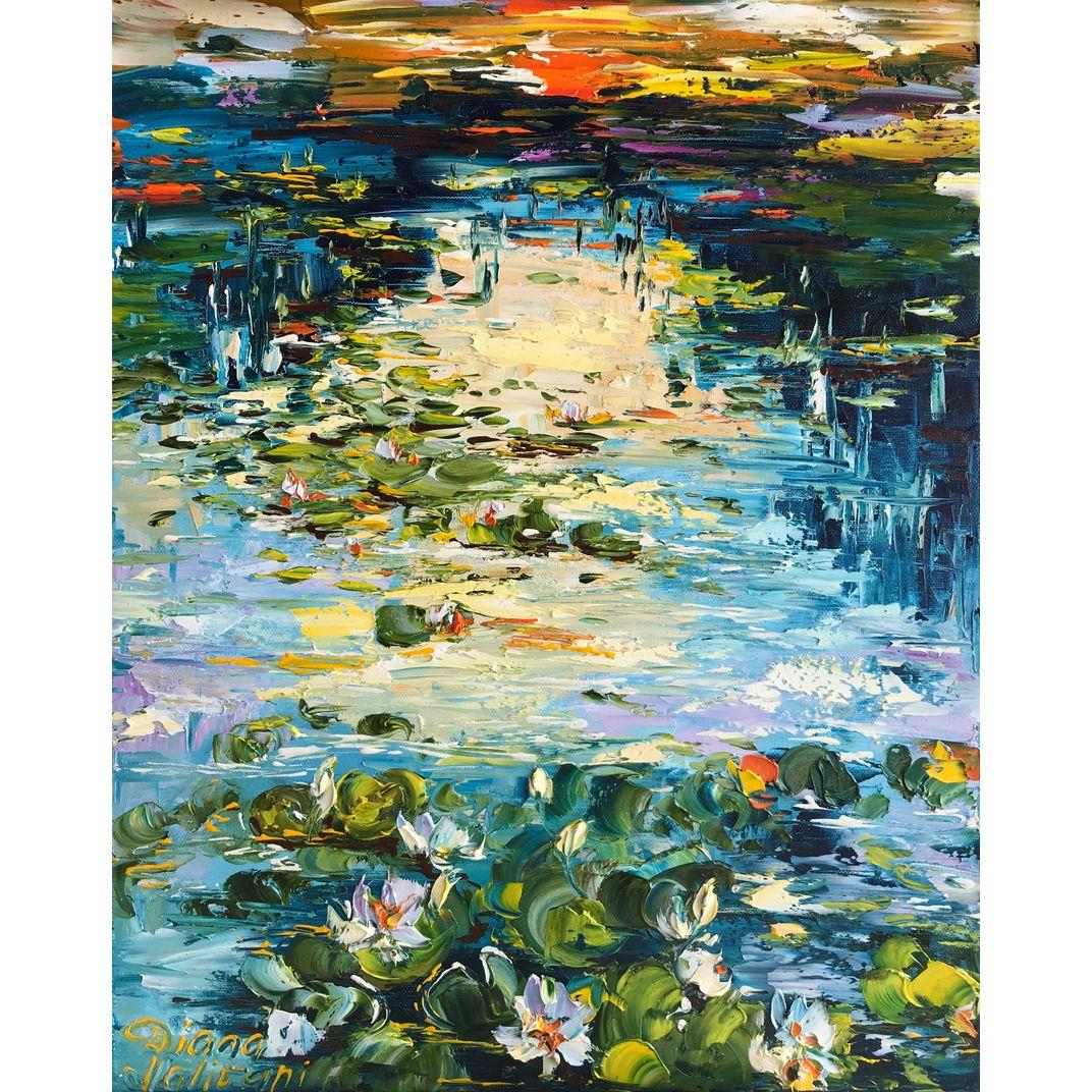 Pond by Diana Malivani