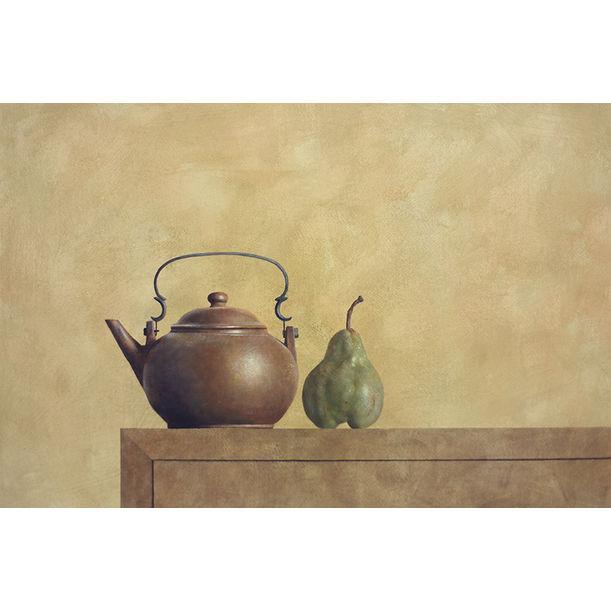 Teapot and Pear by Ahmad Zakii Anwar