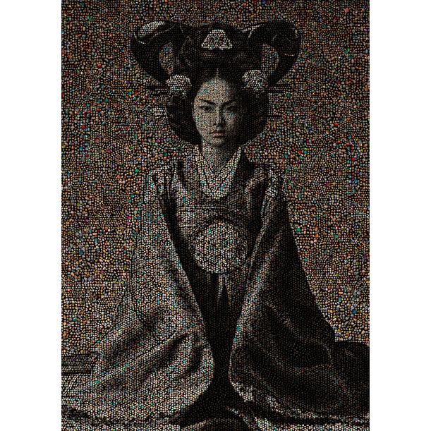 Joseon Dynasty Royal family series, Empress #9 by Chong-Il Woo