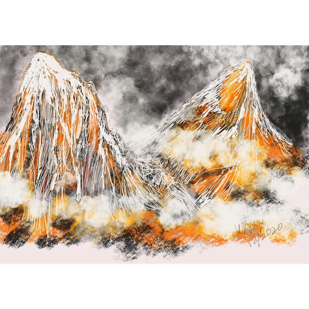 Misty Valley by Tan Kah Wah