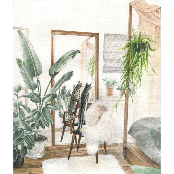 Indoor green series _ bedroom by UD Misi