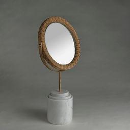Round Mirror - White by PATAPiAN