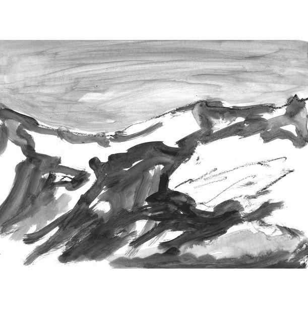 Mountains 006 by Anastasia Vasilyeva