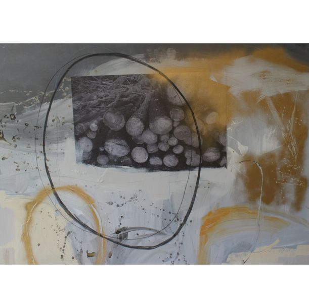 Truncks and circle by Macarena Salinas Amaral