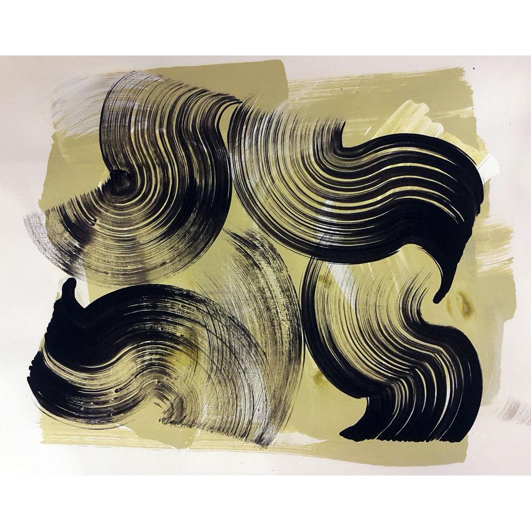 Curve Line 15 by Farnaz Jahanbin