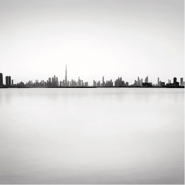Dubai Skyline study #1 by Alexandre Manuel