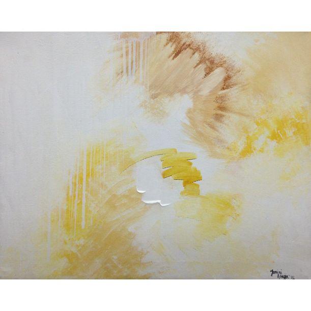 Untitled (yellow) by Tarini Ahuja