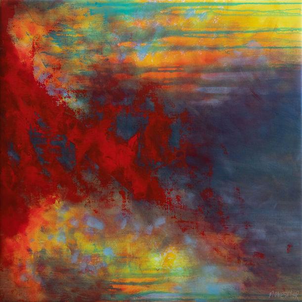 Flaming red by Fabienne Monestier