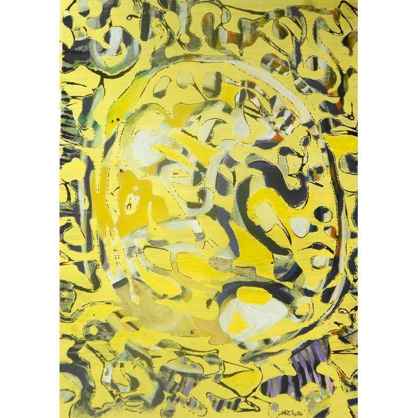 yellow dream by Nartana Thomas Holzweiler