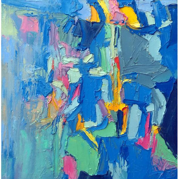 Blue City I by Abhishek Kumar