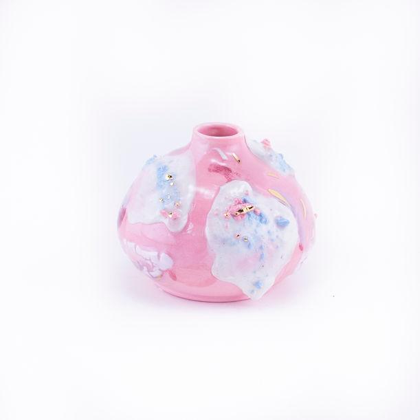Pink Bud by Ling Chun
