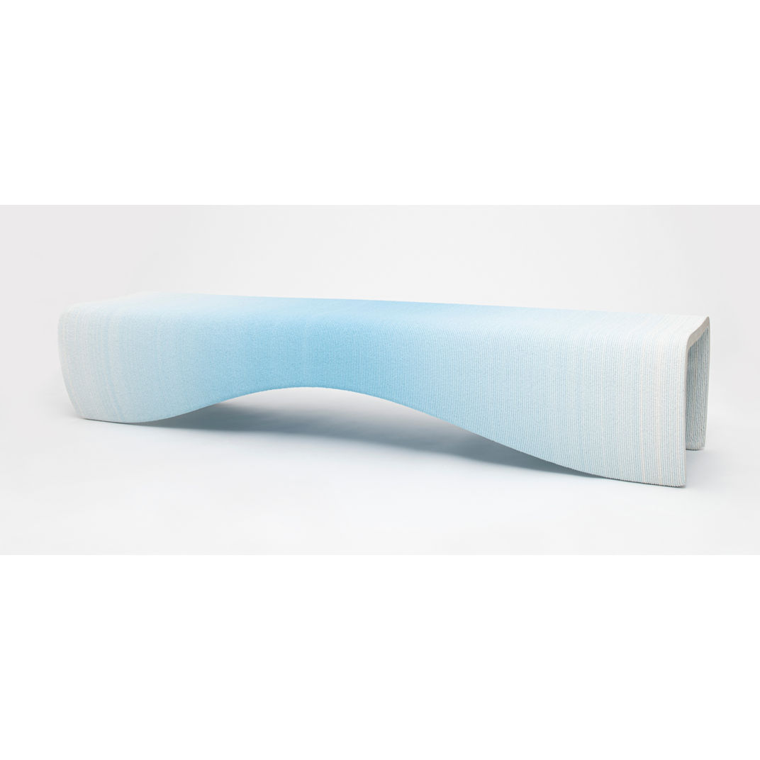 Gradient Bench Large by Philipp Aduatz