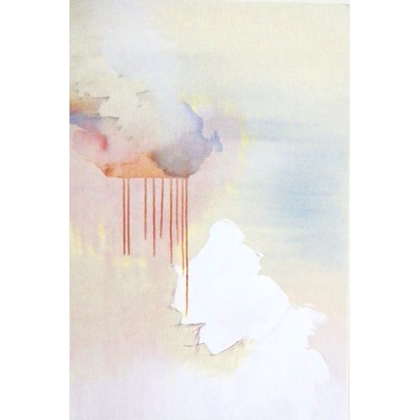 untitled (metal clouds-1) by Tarini Ahuja