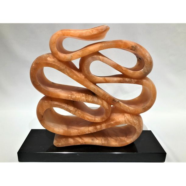 Orange Ribbon by Jeff Rosenfeld