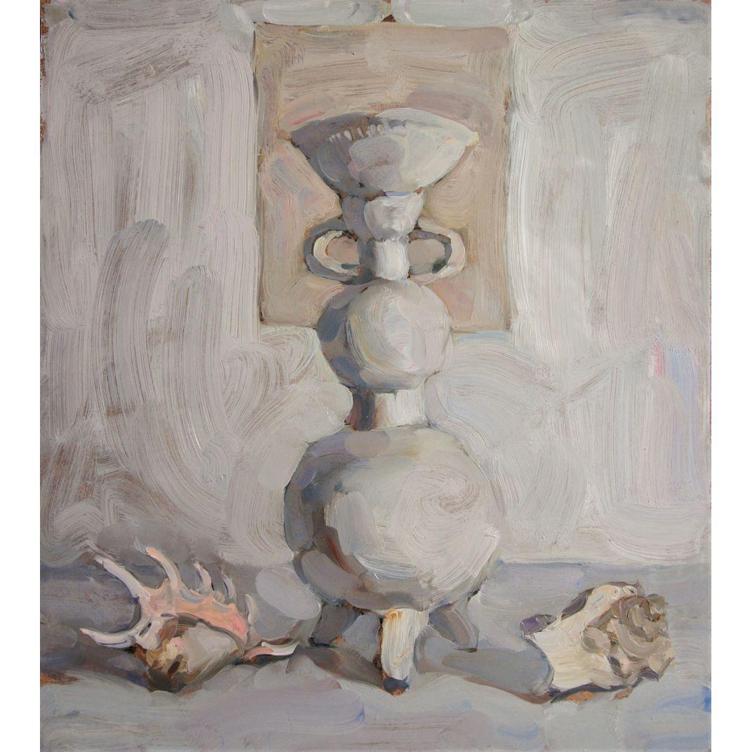 White Still Life by Yaroslava Tichshenko