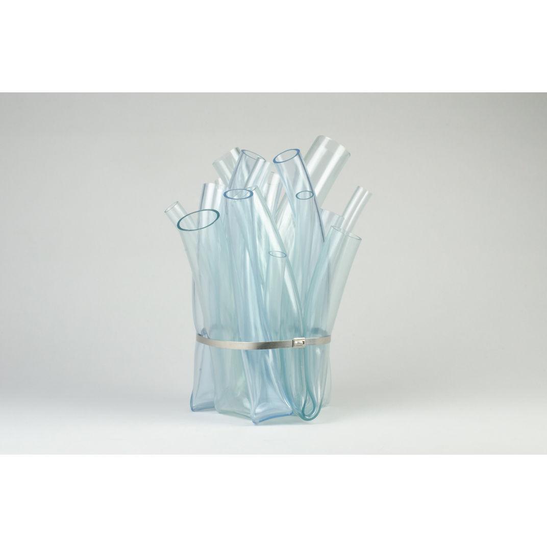 Bundled Vase (Clear) by Hans Tan