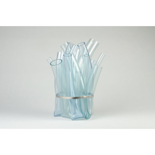 Bundled Vase (Clear) by Hans Tan