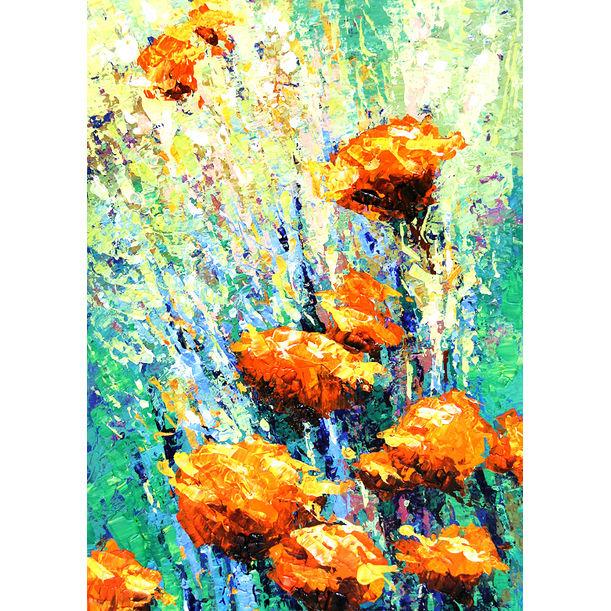 Floral 14 by Gurdish Pannu