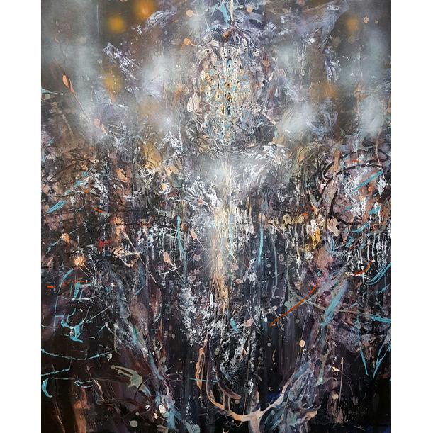 Eclectic Enigmatic Shape Incandescent Angel by Kloska Ovidiu