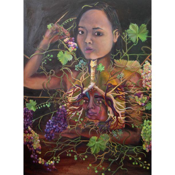 Self-Portrait by Clarissa Wong