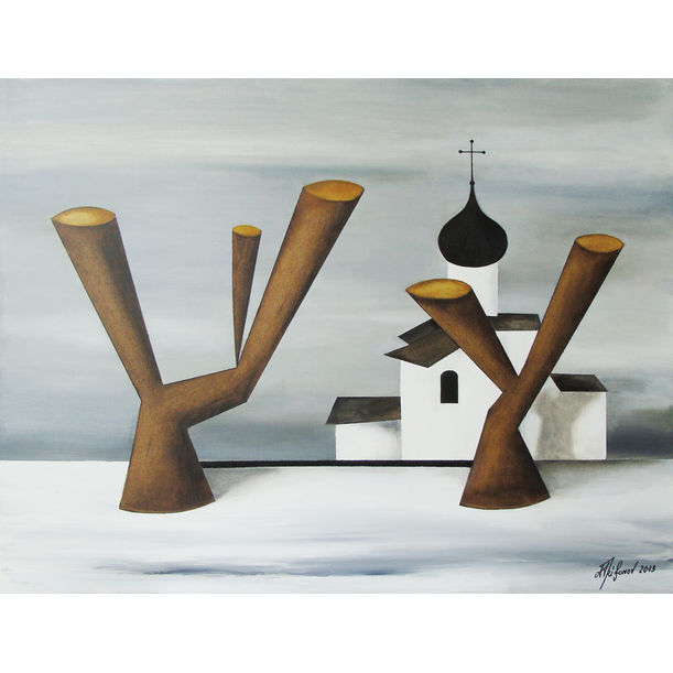 The Russian Landscape by Alexander Trifonov