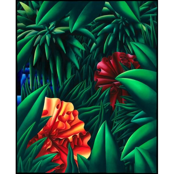 Jungle Scene by Anthony Padilla