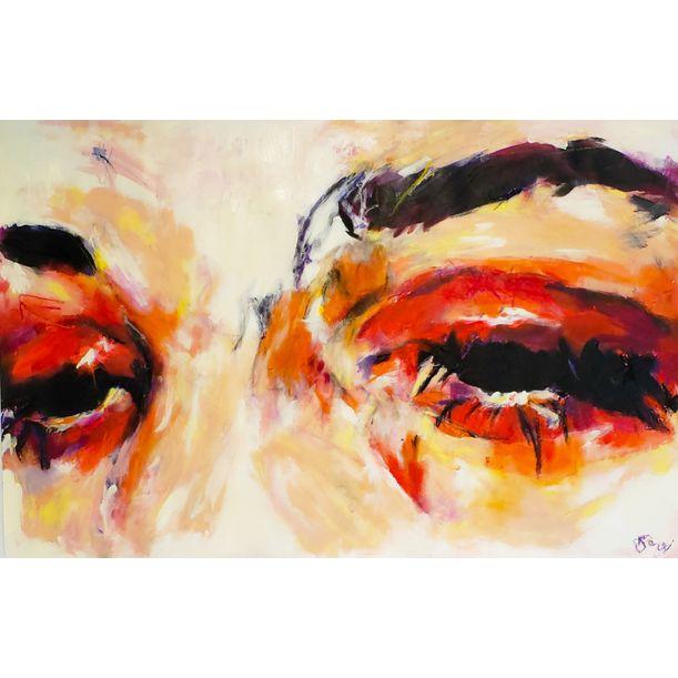 Ellys Eyes by Rebecca lam