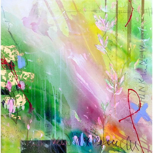 Think New I or The garden of love by Bea Garding Schubert