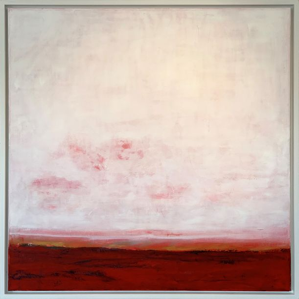RED LANDSCAPE by Victoria Curling Eriksson