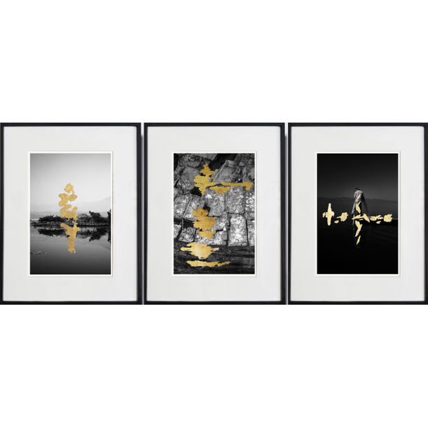 KUTHO : Triptych by Andrea Alkalay