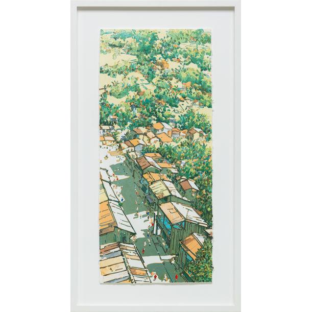 Panaroma Ubin (Changing Times: Main Street, Ubin series) by Ong Kim Seng