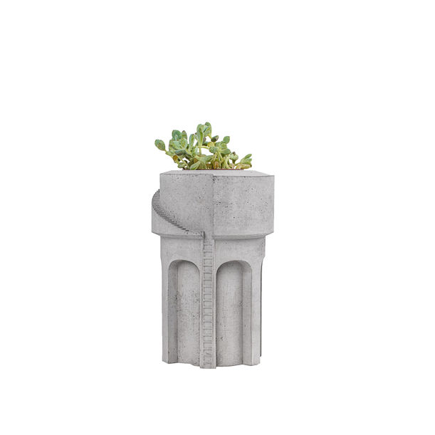 Water Tower 3 – Mini planter by Tiipoi