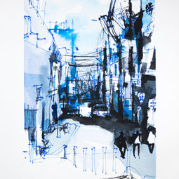 Japan's Aerial Cable Series #10 by Eugene Ch'ng (庄以仁)