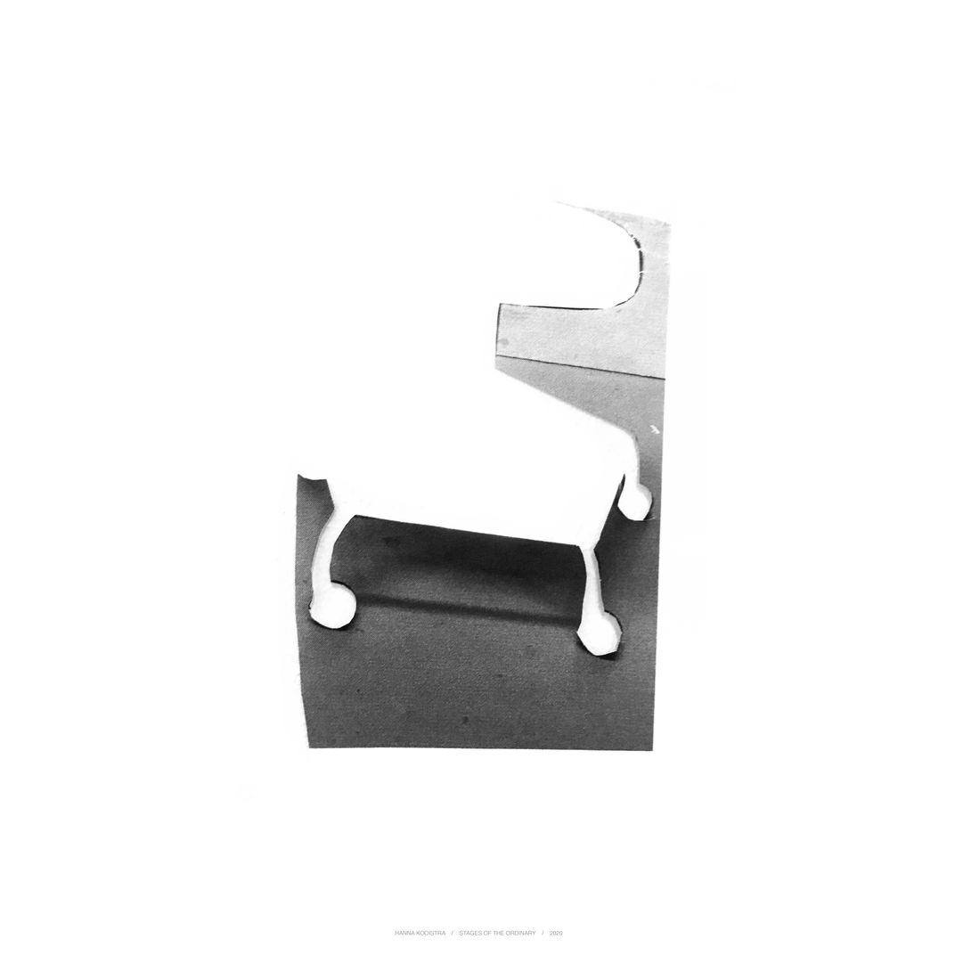 Stages of the ordinary, chair 5 by Hanna Kooistra