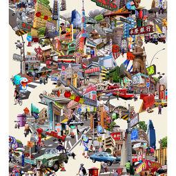 The Big City #2 by Pariwat Anantachina