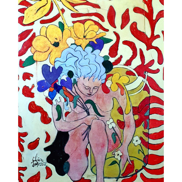 Fleurs En Pots by Claire Denarie-Soffietti