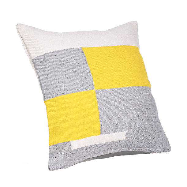 Jamakhan Stripe Grey cushion by Tiipoi
