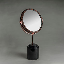 Round Mirror - Black by PATAPiAN