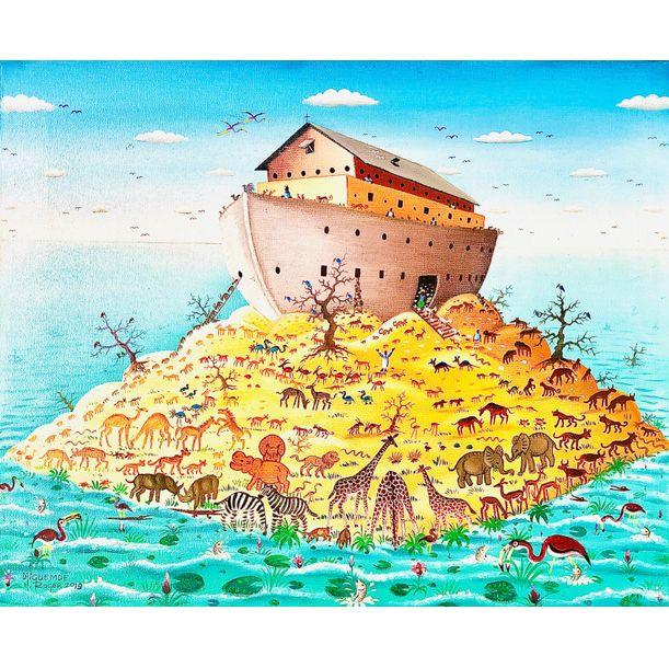 Renaissance Arche de Noé by Djiguemdé Roger