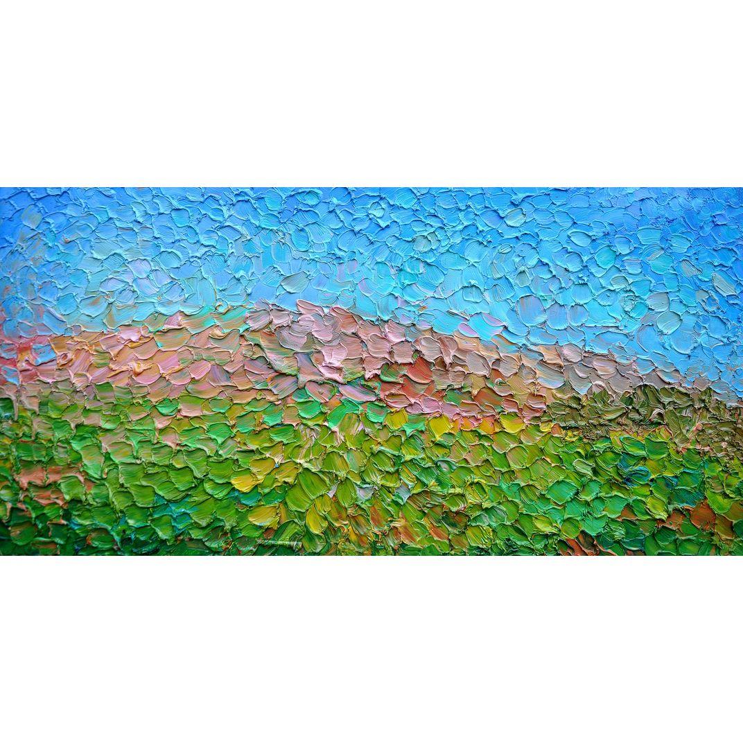 Steppe and sky by Olga Bezhina