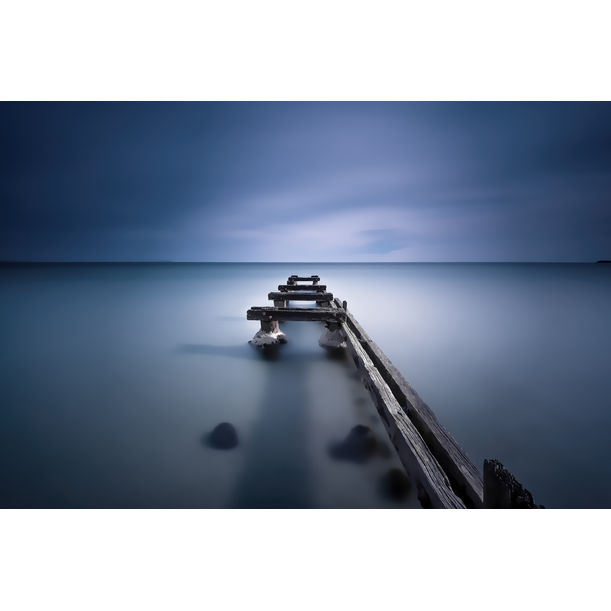 Moody Blue by Nick Psomiadis
