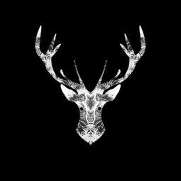 Mirrored Trees Fauna: Oh Deer by Ja Turla