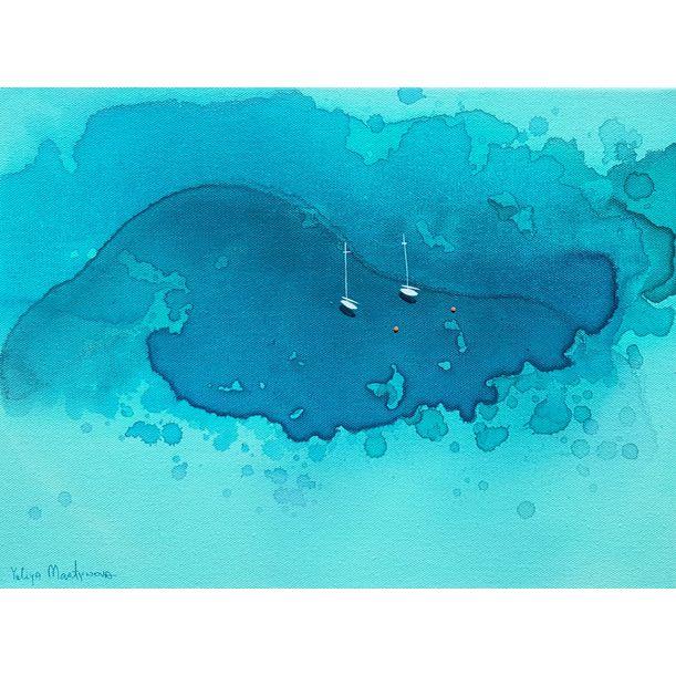 Blue Bay |  Manta Point by Yuliya Martynova