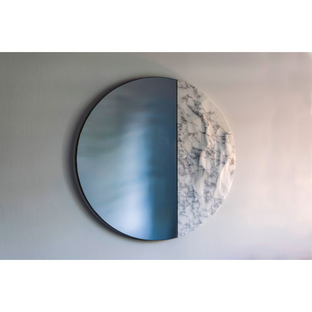 Snowmotion Mirror in Liberty Marble by Ocrum