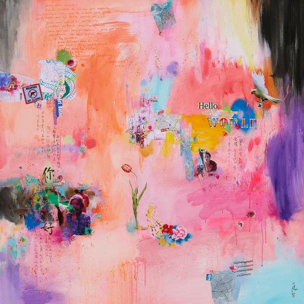 Hello world by Xiaoyang Galas