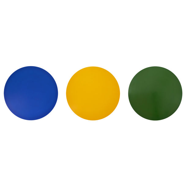 Blue, Yellow, Green by Jau Goh