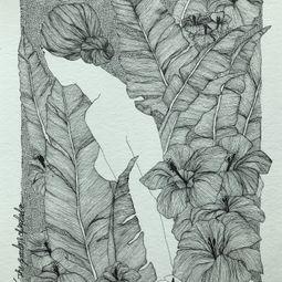 The Gardens Of Splendor No:10 by Erna Ucar
