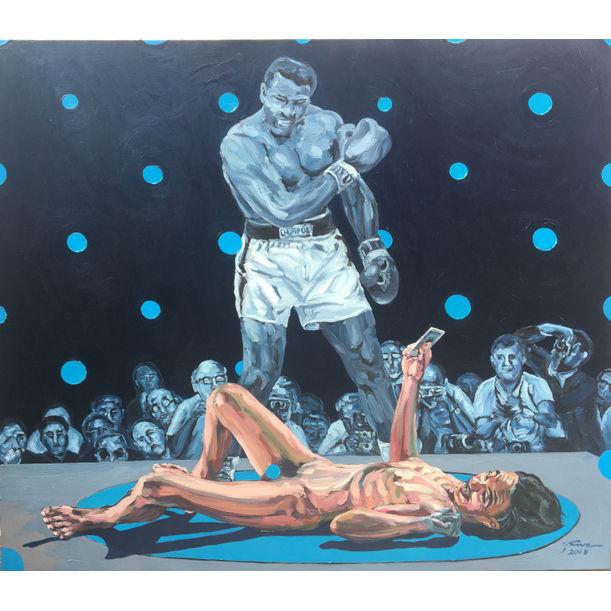 Muhammad Ali by Chumpol Kamwanna